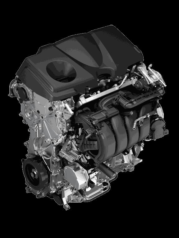 2.5-Liter-Dynamic Force-Motor