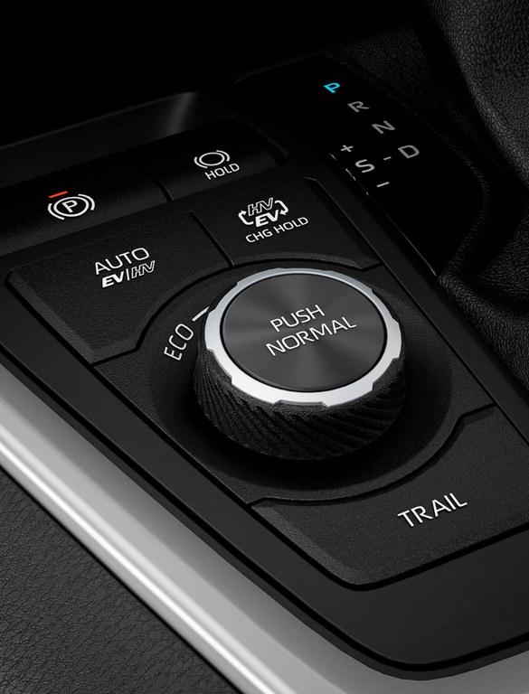 Keyless Start im Suzuki Swift Hybrid.