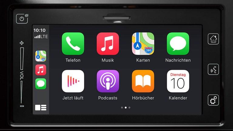 Apple CarPlay im Suzuki Vitara Hybrid.