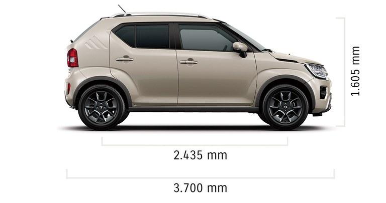 Technische Daten des Suzuki Ignis Hybrid.