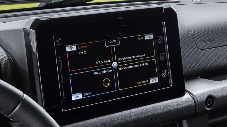 Farb-Touchscreen