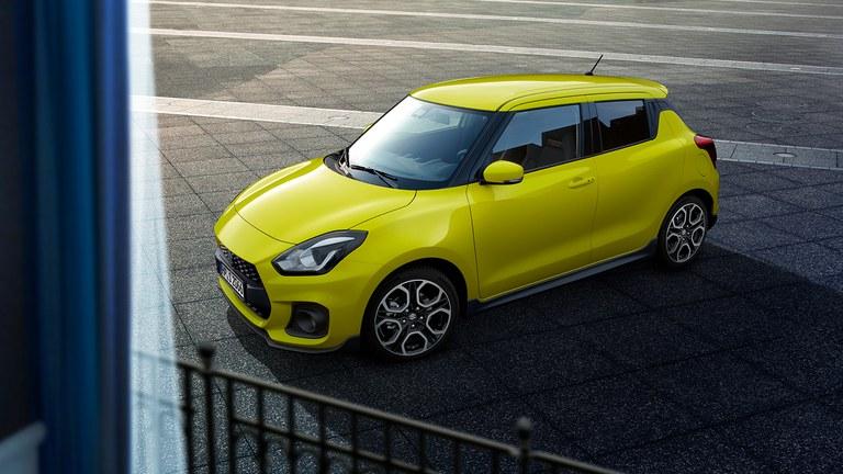 Suzuki Swift Sport Außendesign