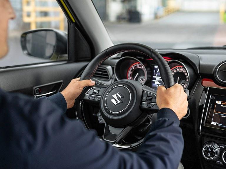 Suzuki Swift Sport Lederlenkrad