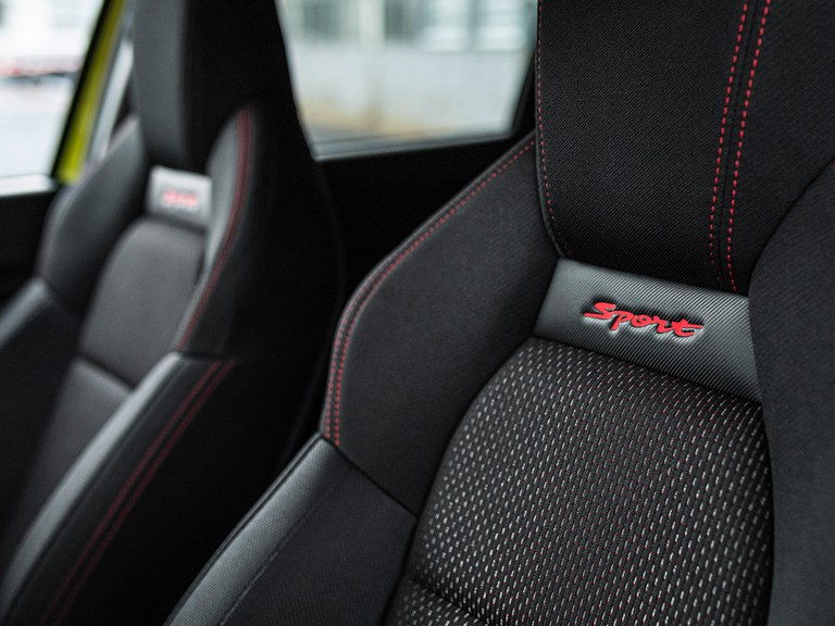 Suzuki Swift Sport Sportsitze