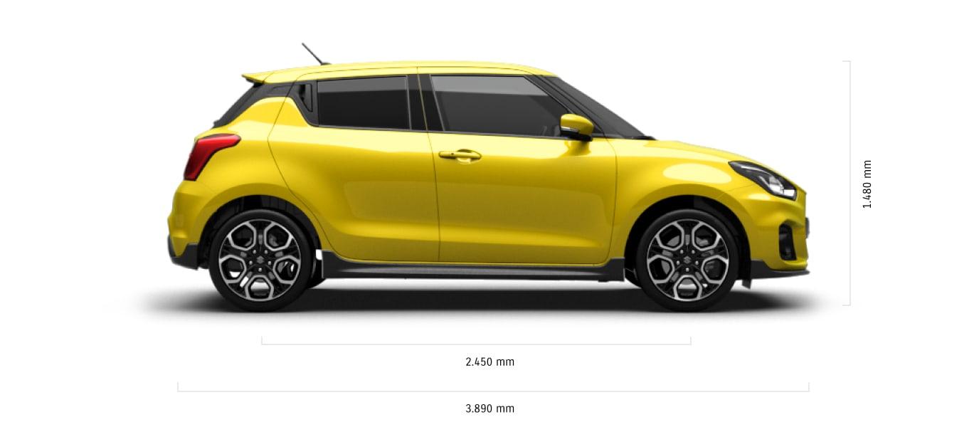 Suzuki Swift Sport Technische Daten