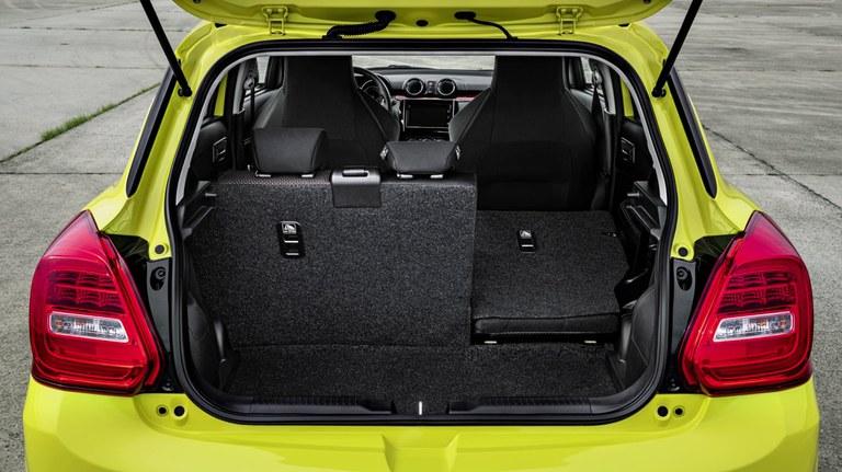 Suzuki Swift Sport Gepäckraum