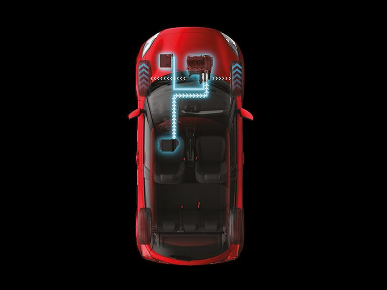 Grafik Suzuki Hybrid-Technologie